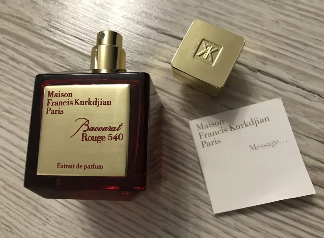 Please help- fake Baccarat Rouge 540 Extrait?