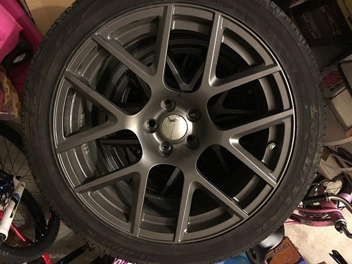 Charger Vs Challenger >> FOR SALE 2015 Dodge Charger/Challenger Scat Pack Wheels-Tires-TPS - $1250 (Houston)