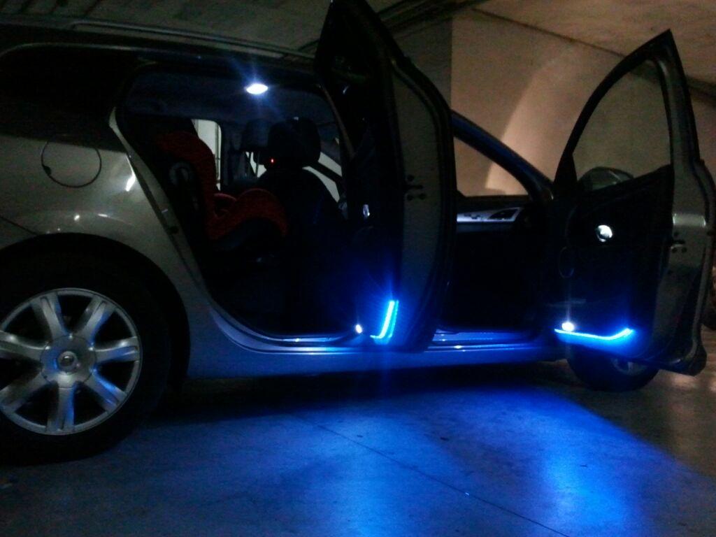 Instalacion luz interior coche