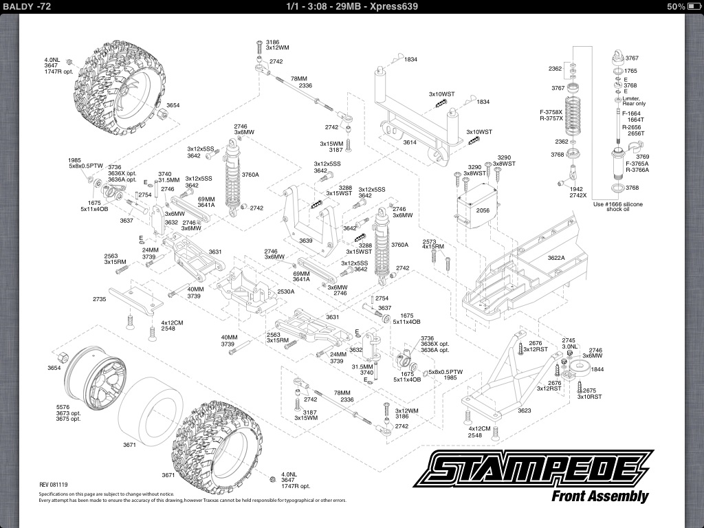 Wrecked Stampede Salvagable Help Traxxas Nitro Rustler Parts Diagram Heres The Exploded Views For Your Truck As Well List To Get You Started With Identifying Need