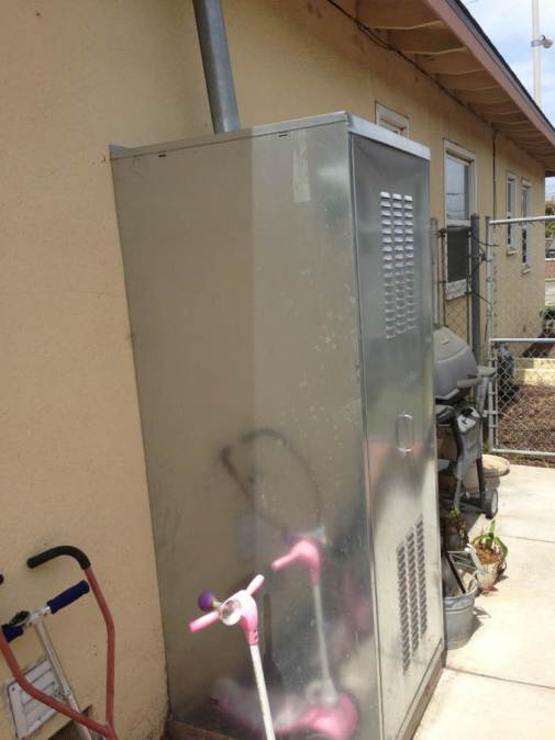 Outside Hot Water Heater Enclosure Mycoffeepot Org