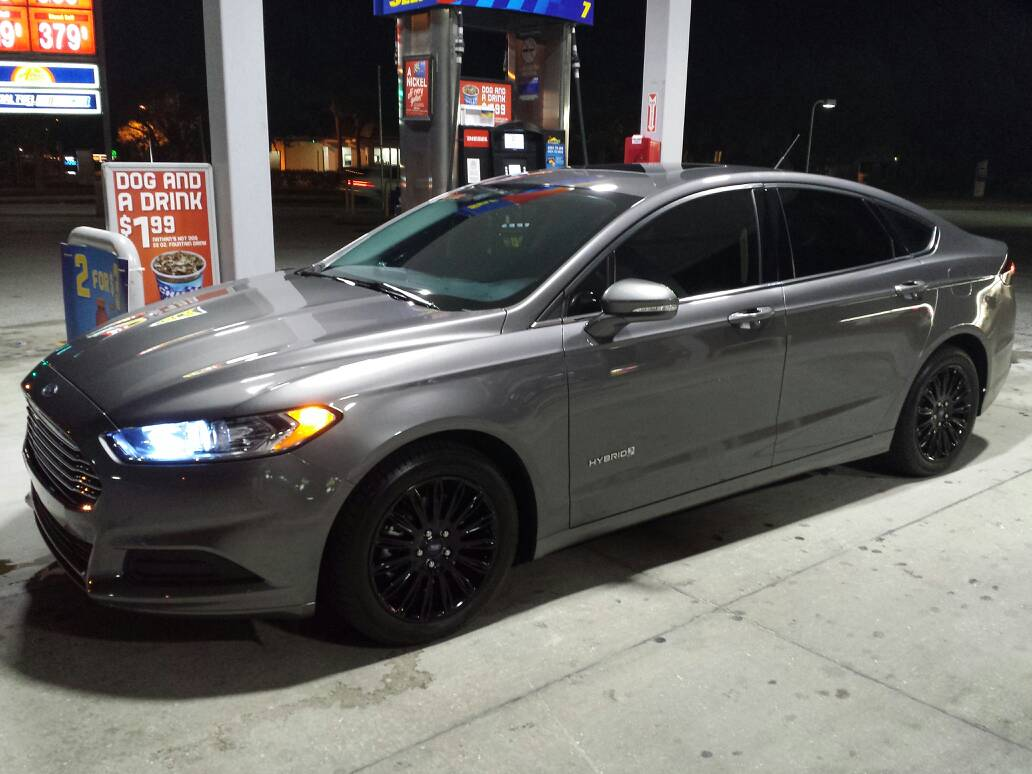 Ford Fusion Black Rims >> 2013 Fusion New Rims Ford Fusion Forums