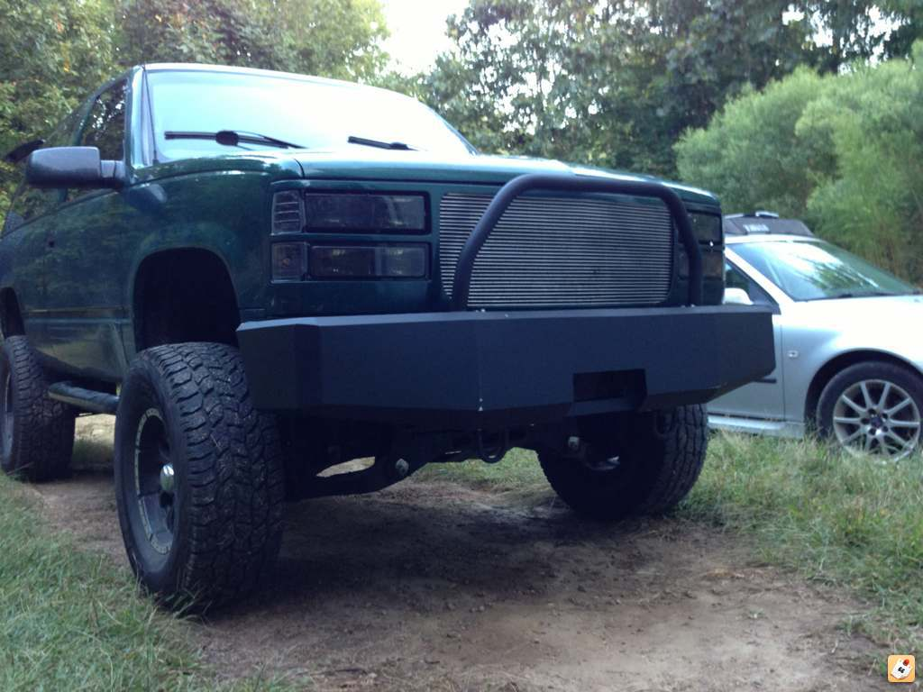 All Chevy 98 chevy bumper : New winch bumper | GMT400 - The Ultimate 88-98 GM Truck Forum