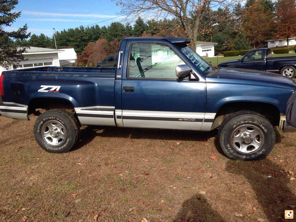 All Chevy 94 chevy stepside : 90 Chevy stepside 4/6 drop   Page 4   GMT400 - The Ultimate 88-98 ...