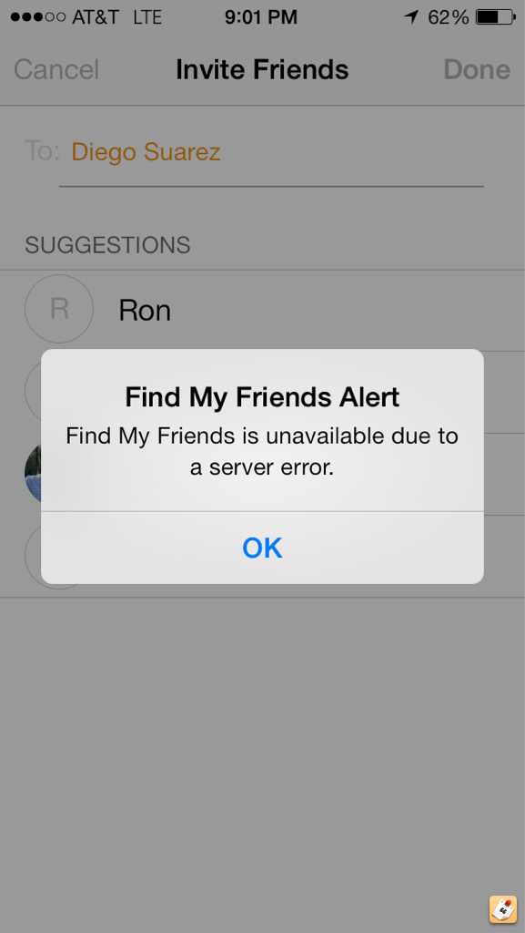 New Find my Friends App not working ?? - iPhone, iPad, iPod