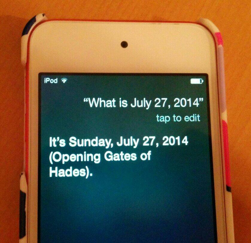 Conspiracy theories: Siri predicts future