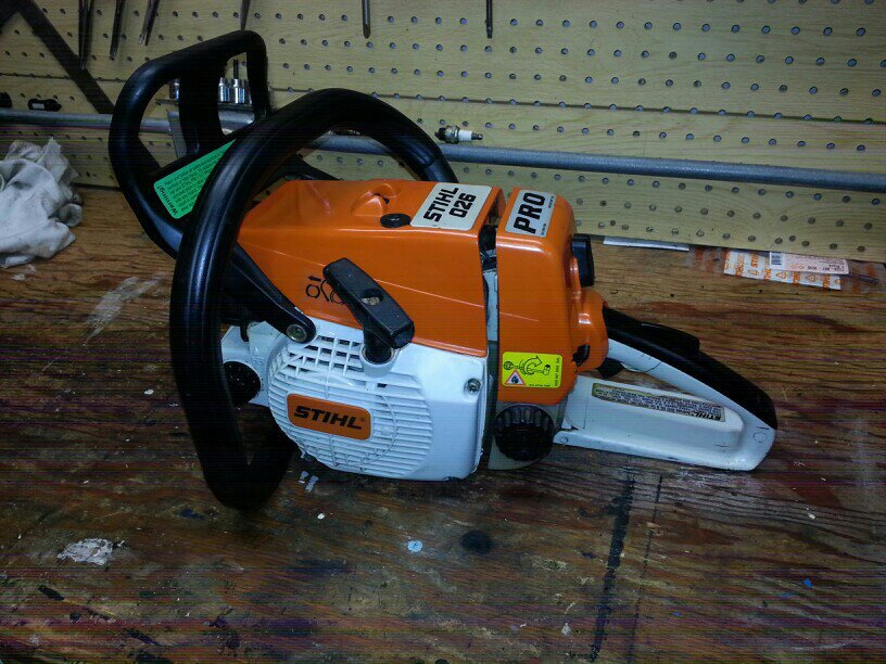 Want To Stihl 026 Pro Chainsaw