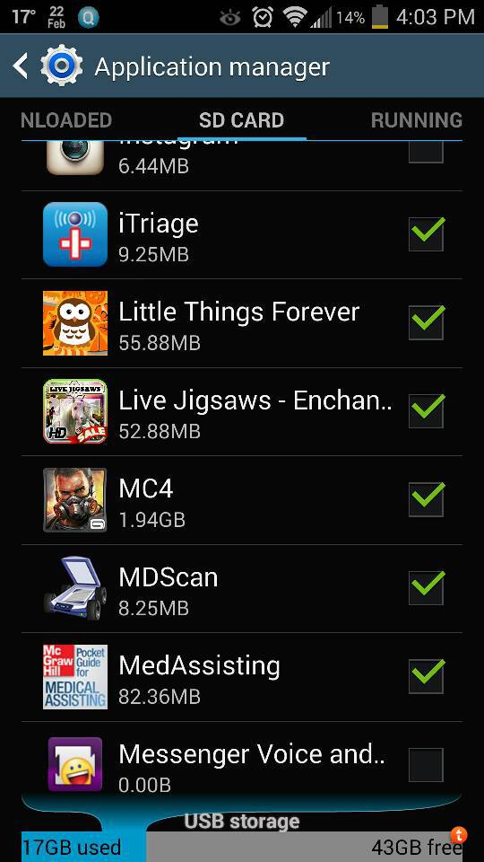 Can't save (or move) apps to SD card - Android Forums at