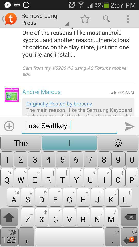 Remove Long Press Numberssymbols From Standard Keyboard Android