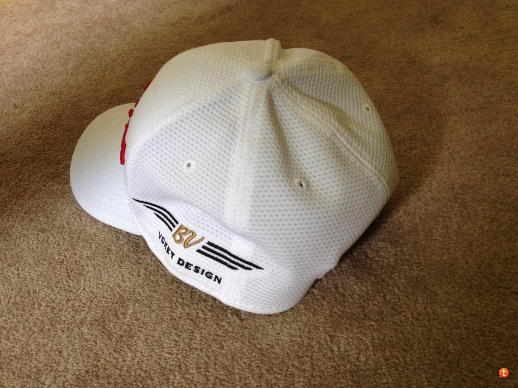 FS  Titleist Vokey white red hat - Sm Med 701b7327489