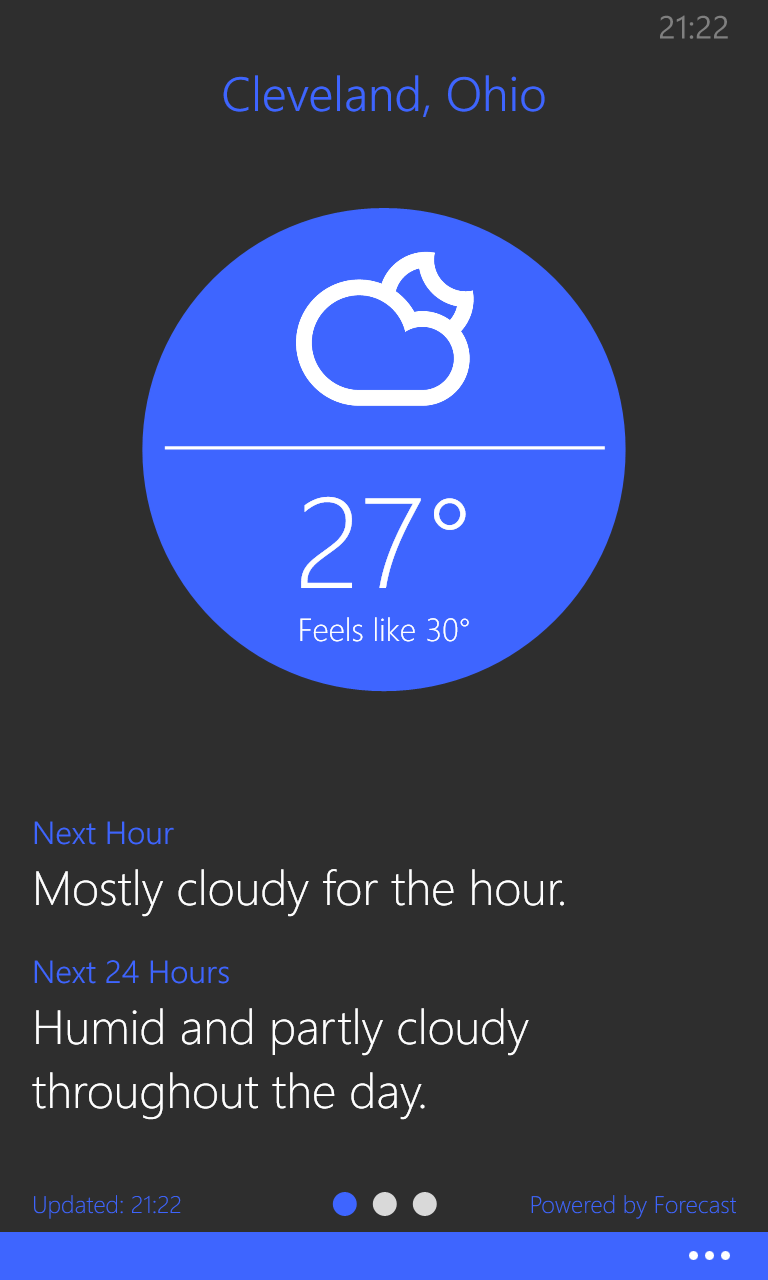 What is the weather like today/tonight? - Windows Central Forums