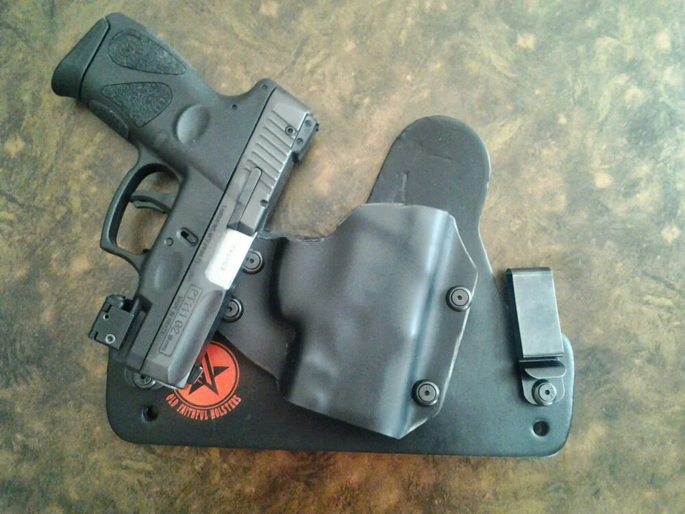 Who makes a G2 with laser holster? - Taurus Gun Forum