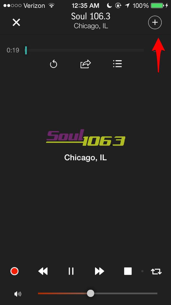 GUIDE] How to use the TuneIn Radio App - iPhone, iPad, iPod