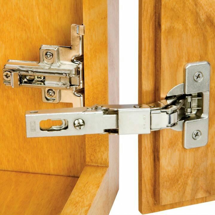 How To Install Partial Inset Cabinet Door Hinges | memsaheb.net