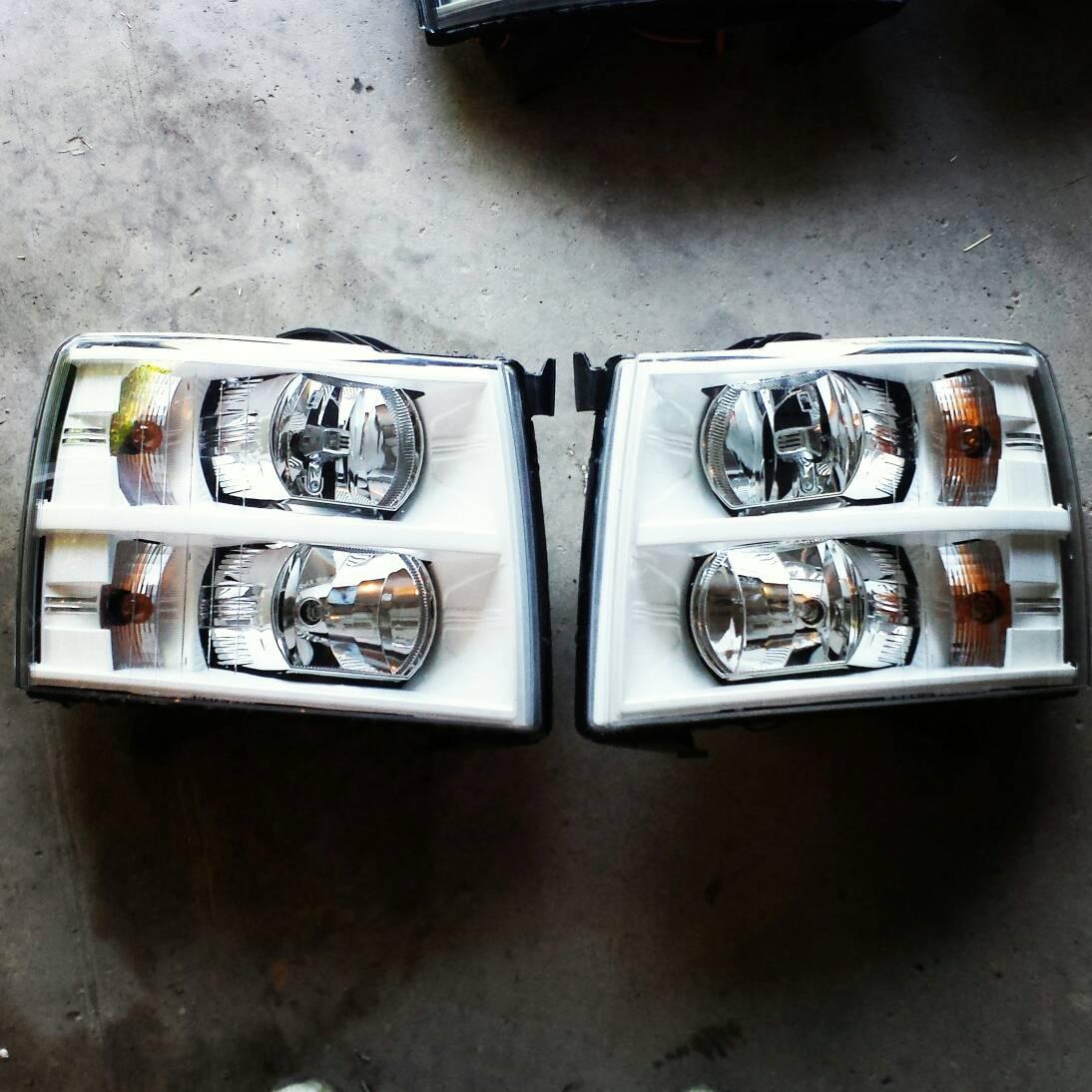 Nnbs Silverado lights for sale (custom) | Chevy Truck Forum | GMC ...