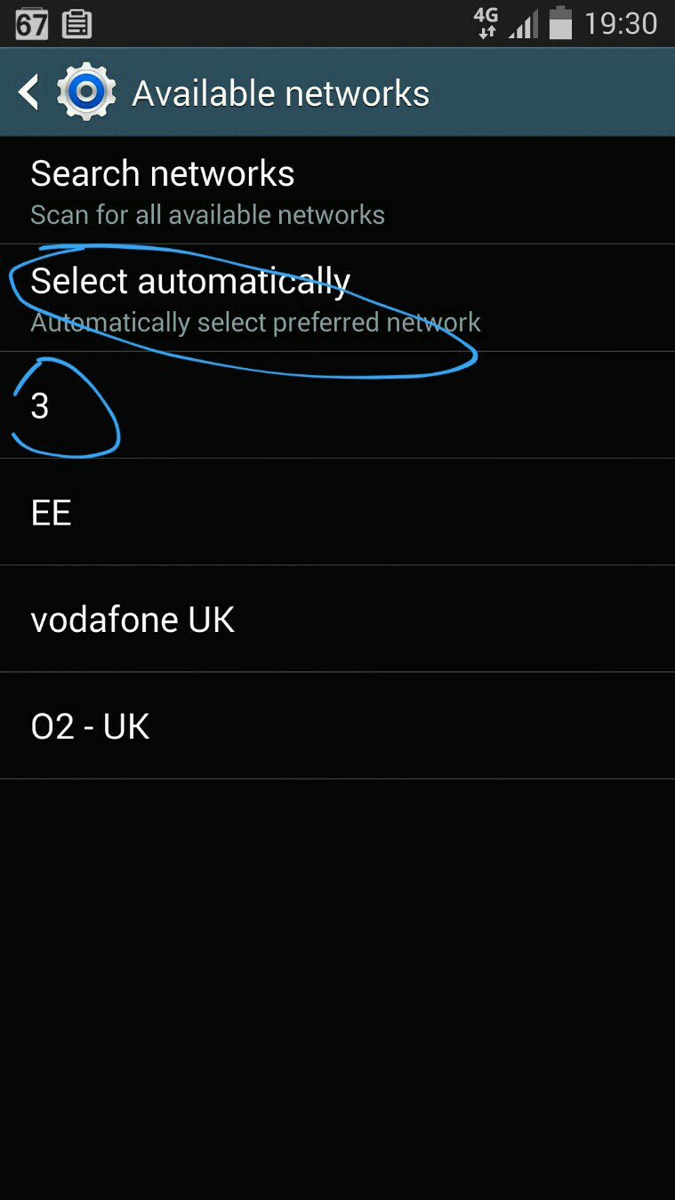 Full Signal but emergency calls only! - Samsung Galaxy S4 on