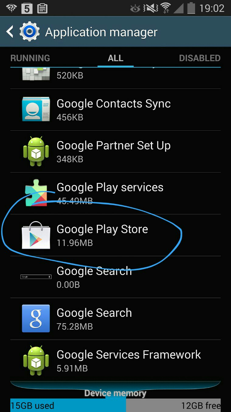 How to Re-Install Google Play Store in Galaxy S5 - Android