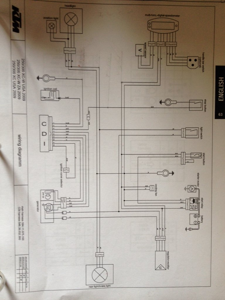 8996efff8db0e04fd4ec1a39b6301302 2007 ktm 450 exc wiring diagram wiring diagram and schematic design  at virtualis.co