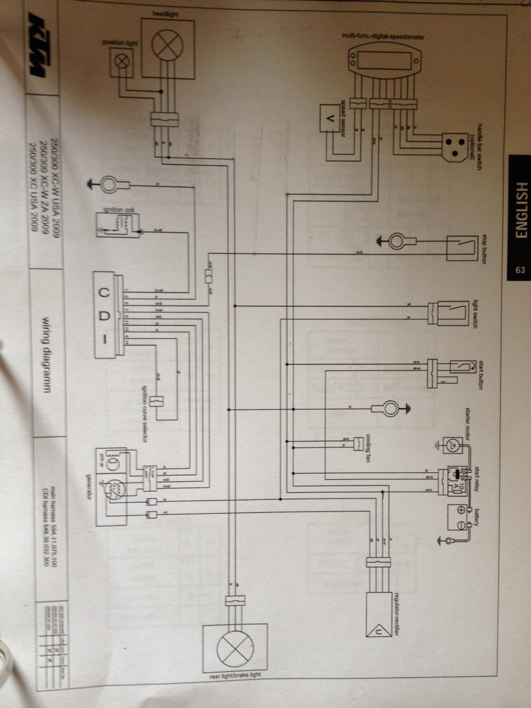 2003 ktm 625 sxc wire harness   29 wiring diagram images
