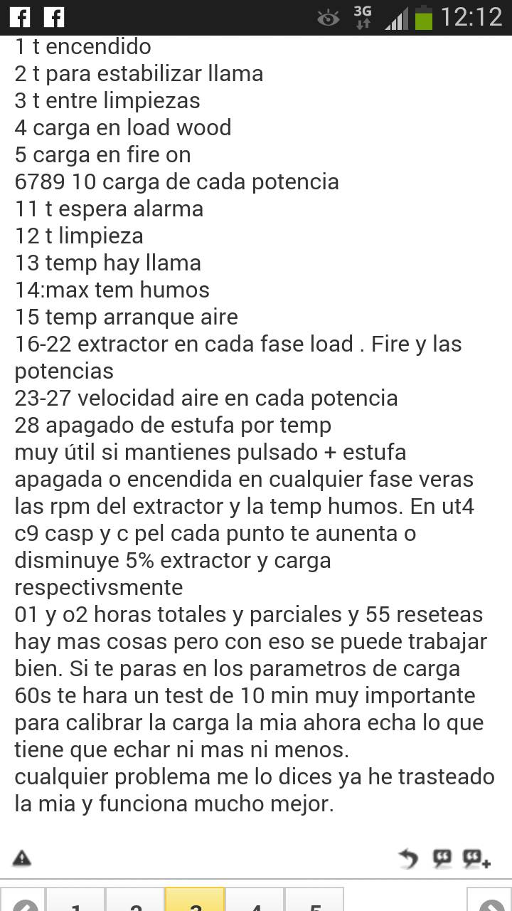 Parametros estufas de pellets de bricodepot 8kw p gina 6 - Estufas pellets bricodepot ...