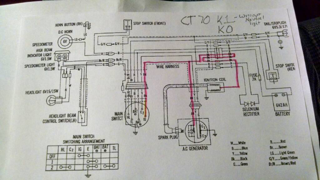 dirt bike wiring diagram 1974 wiring diagram