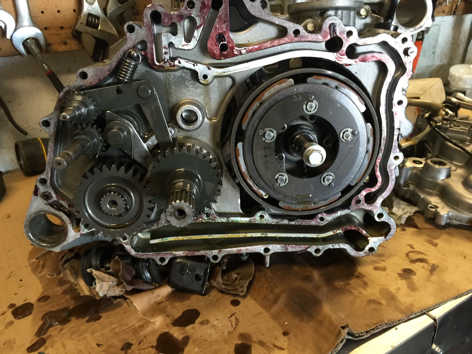 Jd Buck 500 Engine And Tranny Issues