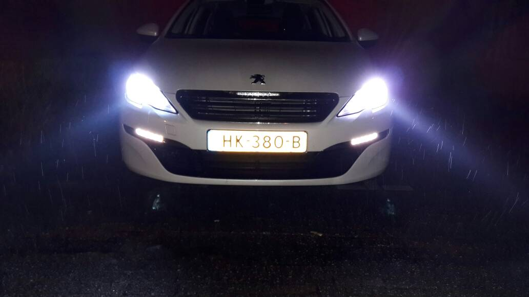 LED Dimlicht - Peugeot Meeting