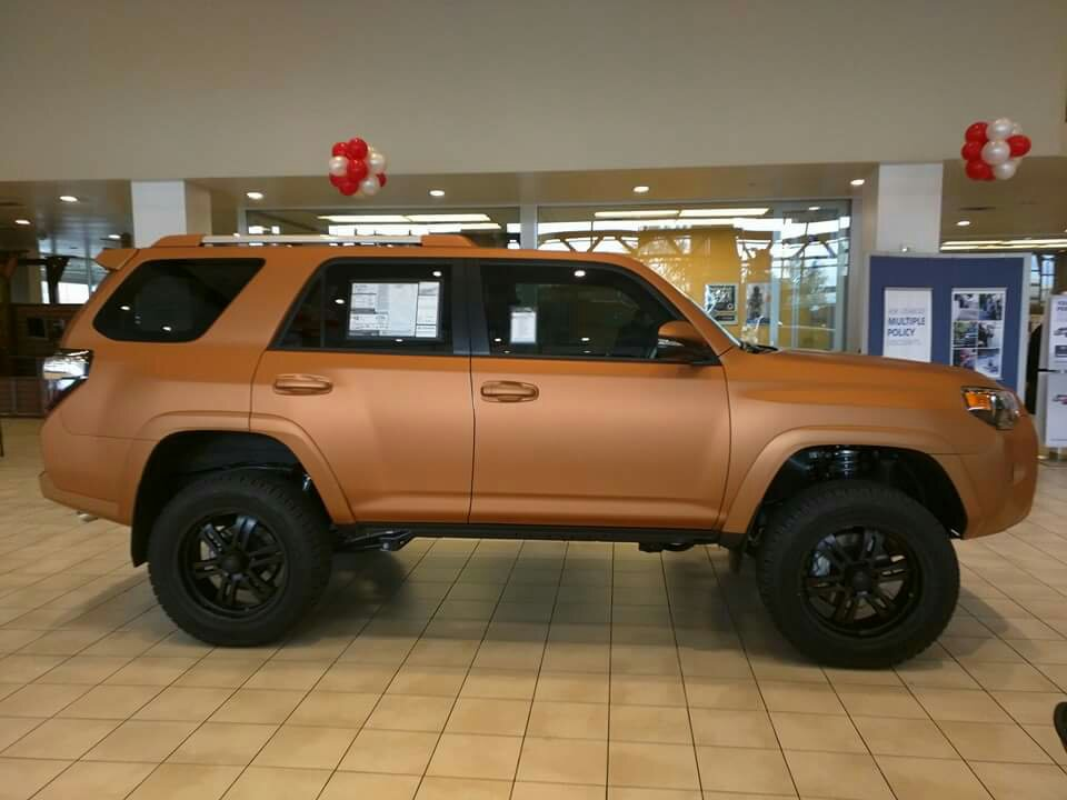 Jeep Dealership Las Vegas >> Copper colored in vegas dealership! - Toyota 4Runner Forum ...