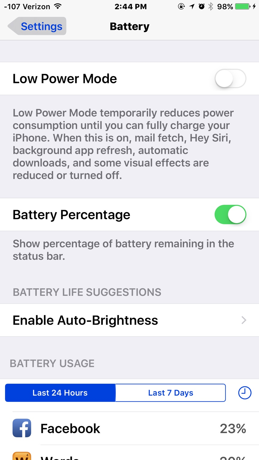 how to change battery percentage on iphone 5