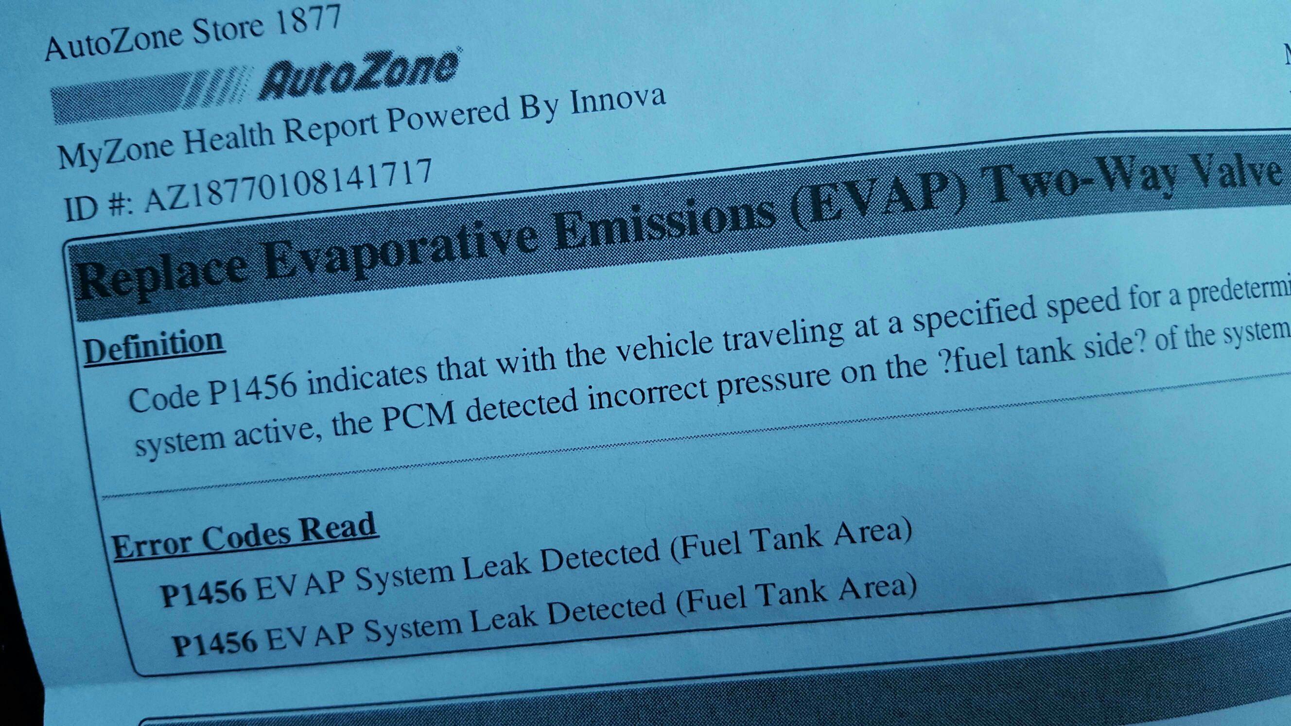 Code p1456 evap leak 1999 accord page 2 drive accord for P1456 honda accord