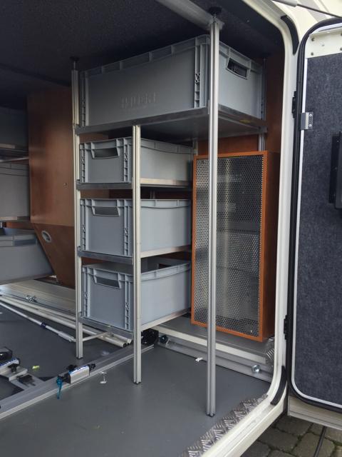 fahradschiene beim e line in der heckgarage carthagoforum. Black Bedroom Furniture Sets. Home Design Ideas