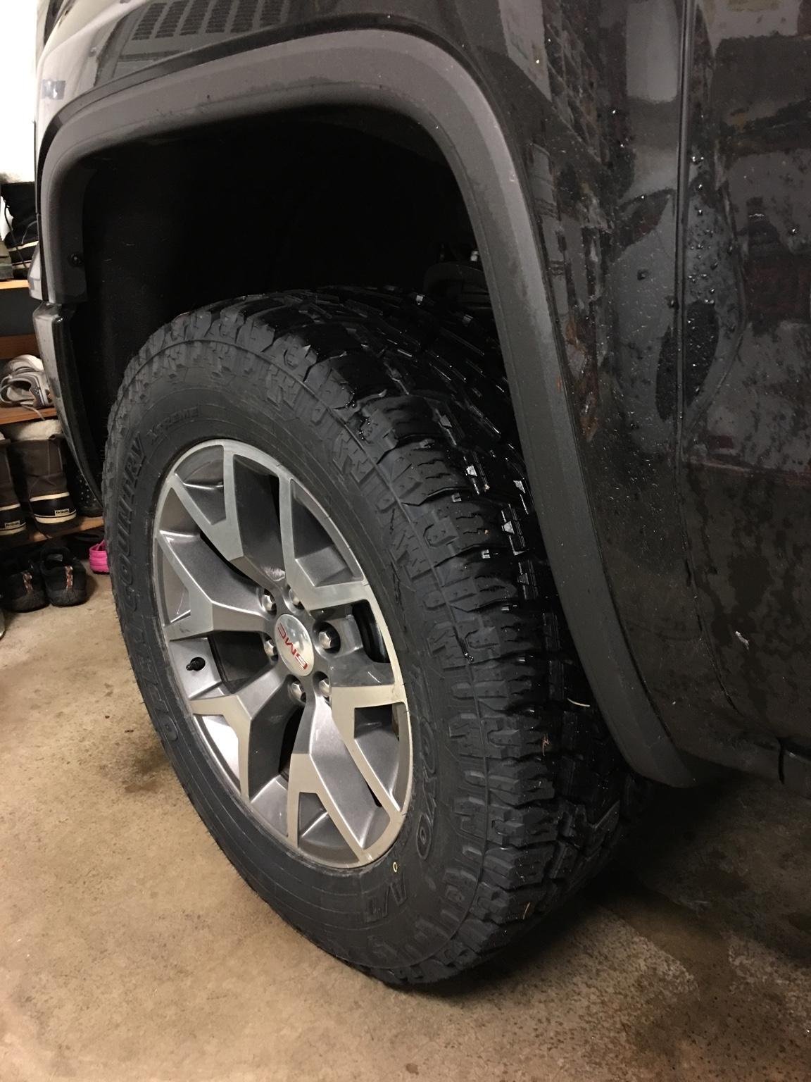 La Sierra Tires >> New tires, 295/60/20 Toyo AT2 Extreme - 2014-2018 Silverado & Sierra Mods - GM-Trucks.com