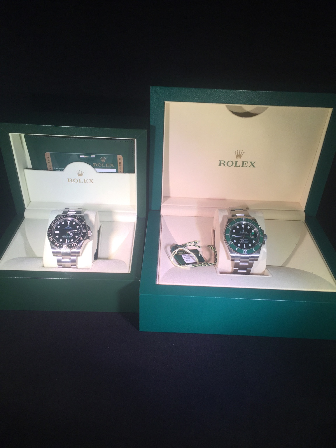 Box size difference ?. , Rolex Forums , Rolex Watch Forum