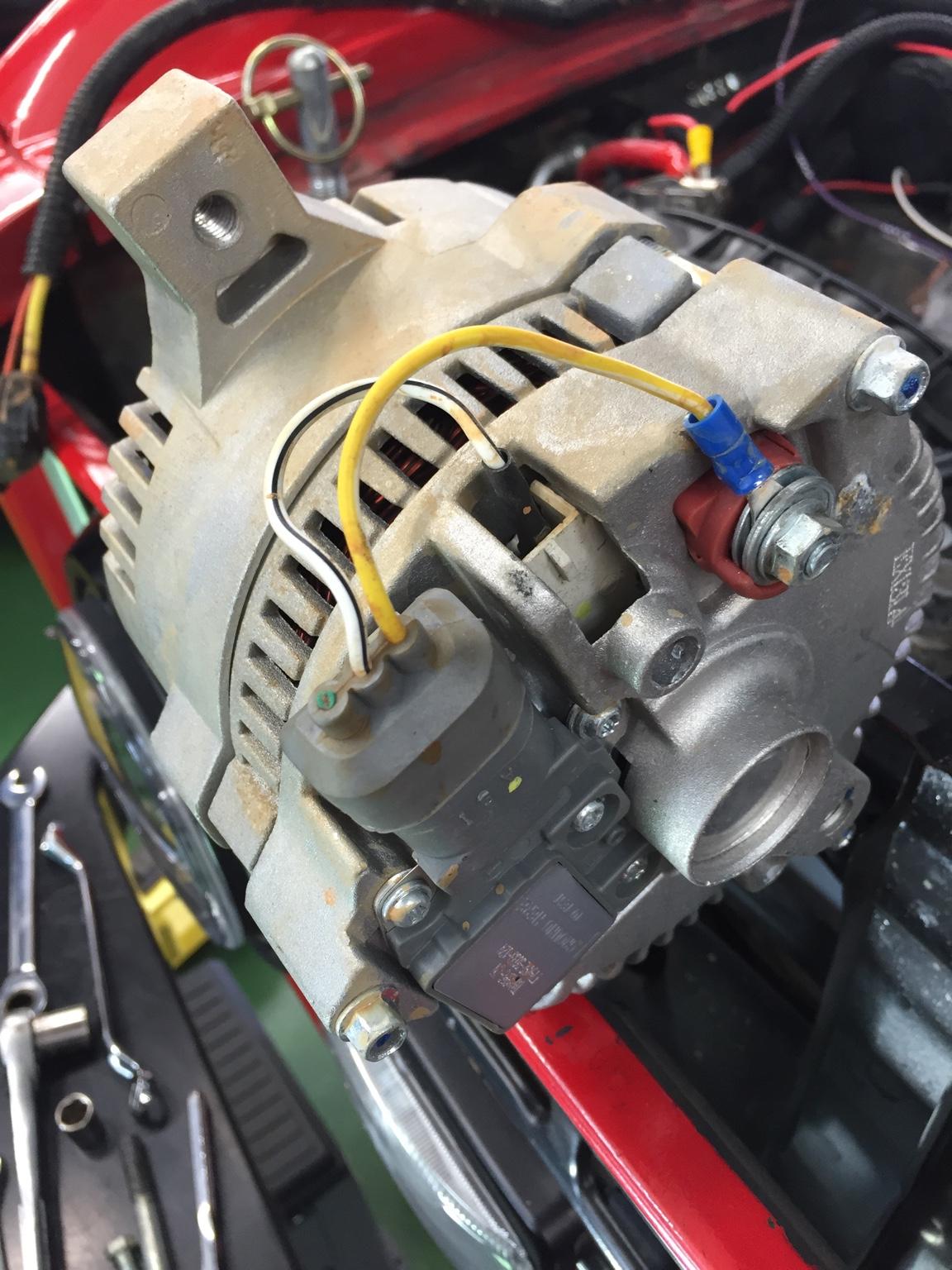 Convert A 1-wire Alternator To A 3-wire