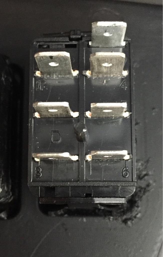 Help wiring a winch 7 pole dash switch - Polaris RZR Forum - RZR ...
