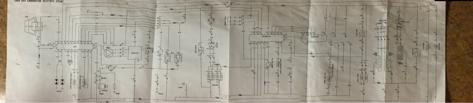 2003 ski doo 800 rev wiring diagram schematic diagram2004 rev wiring diagram  800ho (needed)