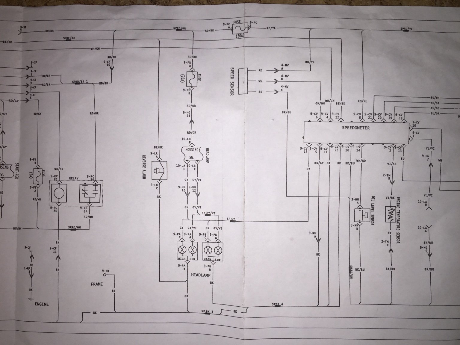 2004 Rev Wiring Diagram 800ho  Needed
