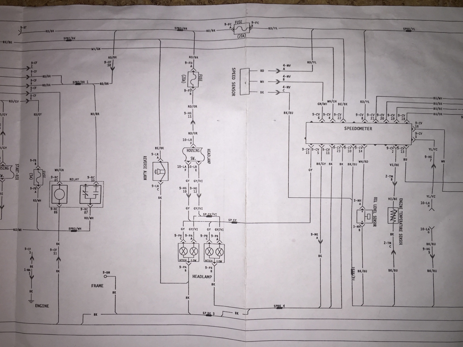 2004 Rev Wiring Diagram 800ho Needed Hcs Snowmobile Forums 2014 Ski Doo Headlight Report This Image