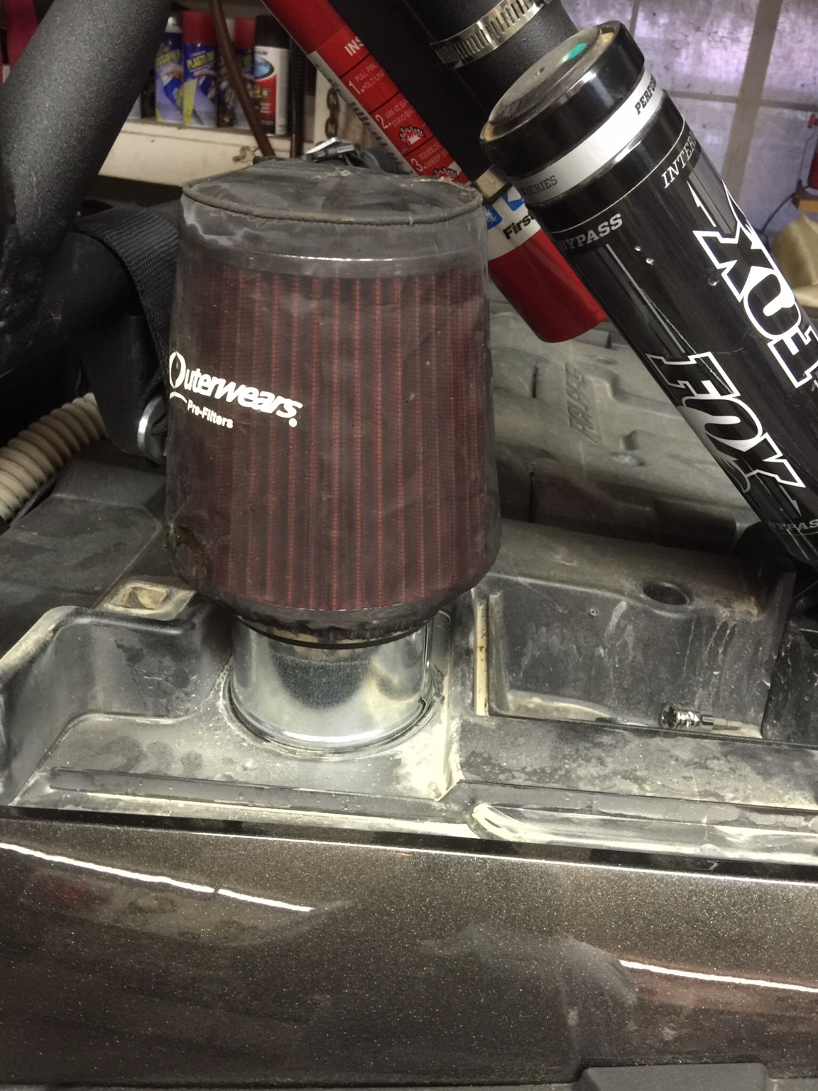 "Rzr Xp 1000 >> DIY 4"" CVT Filter - Polaris RZR Forum - RZR Forums.net"