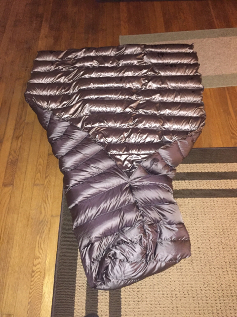 ordered some more down  cheaper by the pound than by the throw   once it arrives going to do a matching uq  then i u0027m doing a set for myself in the copper  show off your diy costco quilts  rh   hammockforums