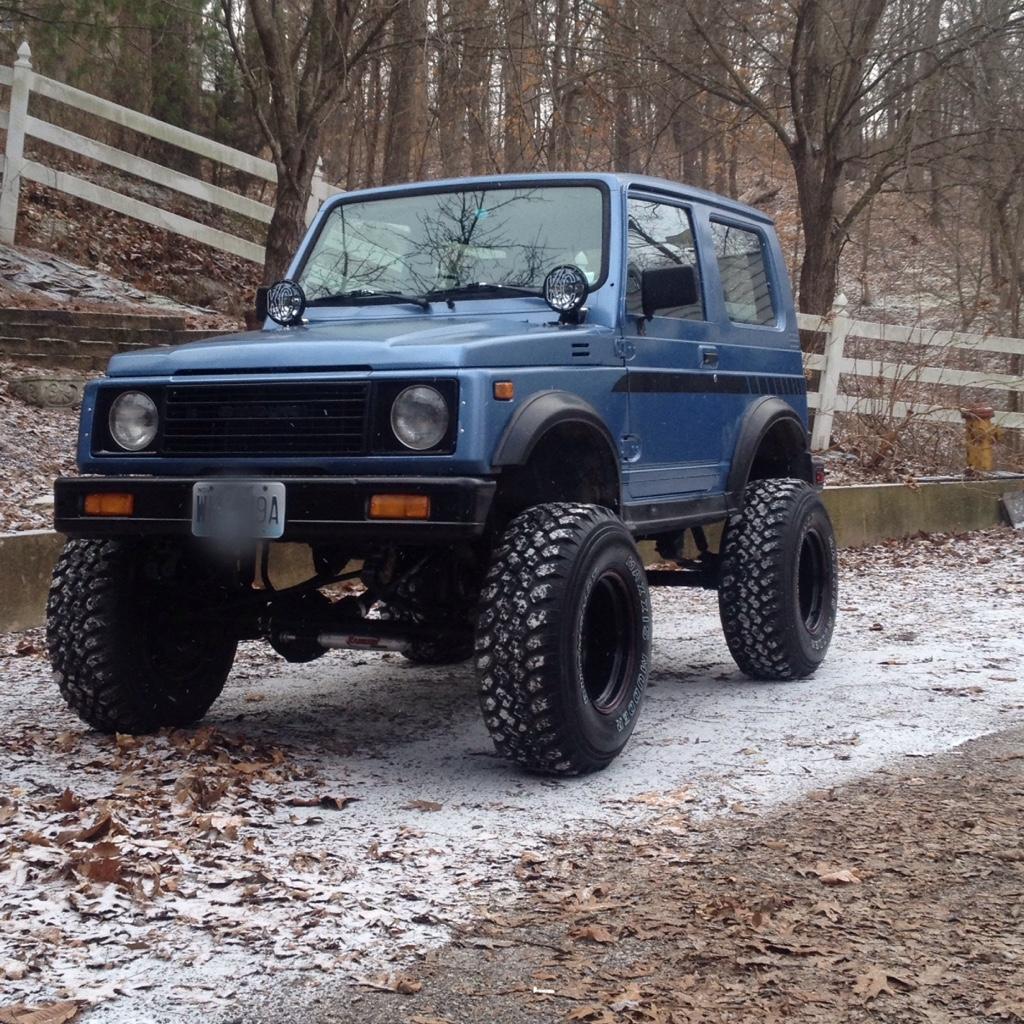 My Suzuki Samurai: Great Lakes 4x4. The Largest Offroad