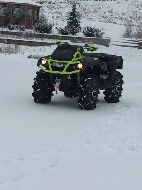 how to send an attachment on iphone can am atv forum post your pic of your 2016 20297