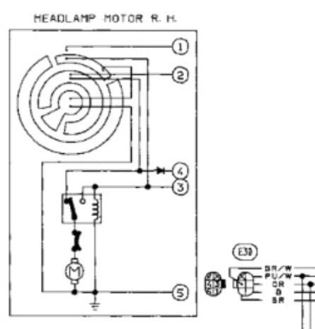manual wiring for headlight motors  zilvia forums