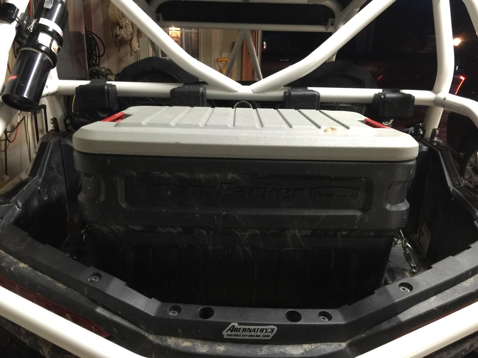 900 S Cargo Yeti 45 And Toolbox Polaris Rzr Forum