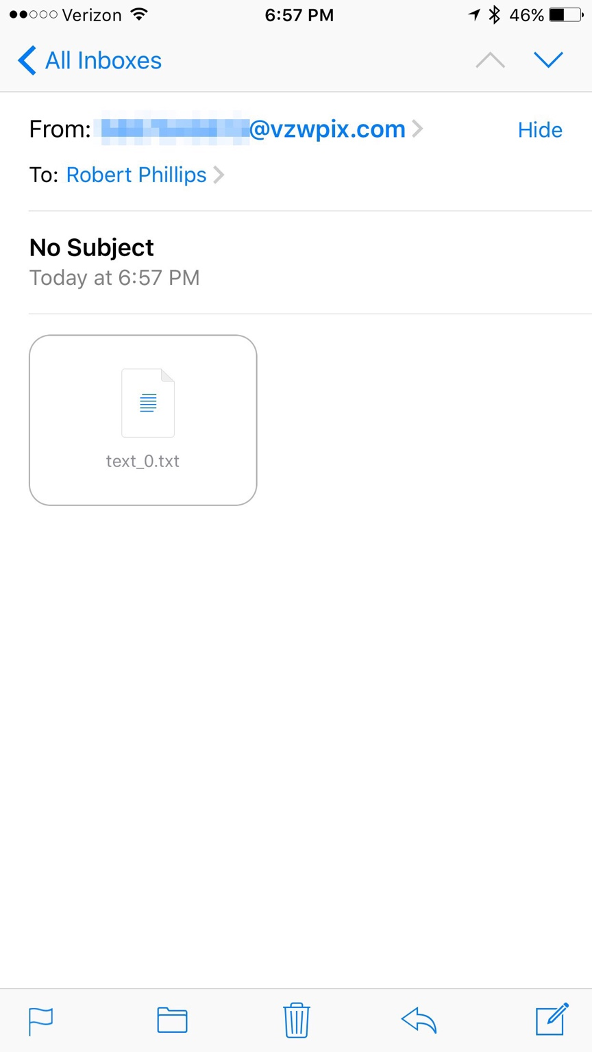 how to convert email to pdf on iphone