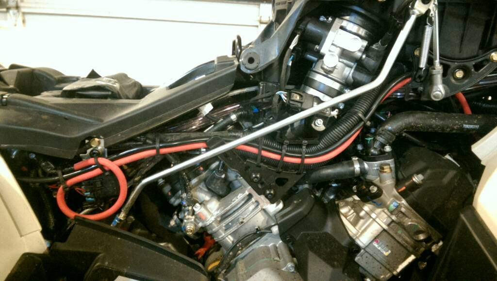 570 winch install  CanAm ATV Forum