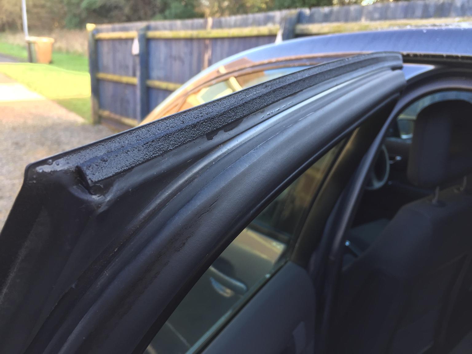 Rear Door Seal Leaking? | Audi A2 Owners\' Club