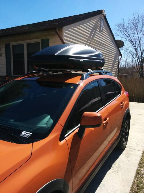 Anybody Use A Thule Force Cargo Box Subaru Xv Crosstrek Forums