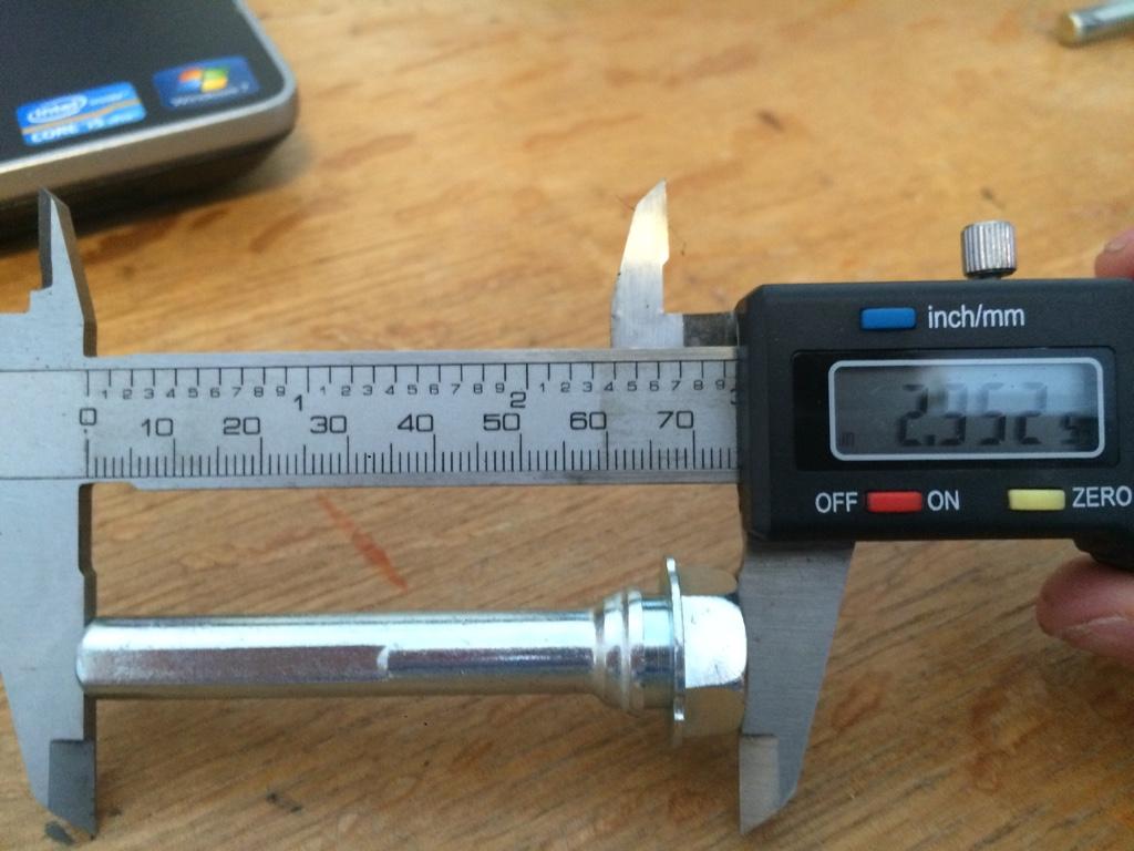 B6 S4 Caliper Slide Pins