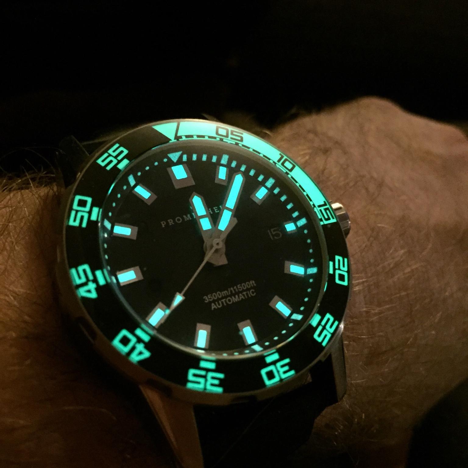 SOLD: Prometheus Poseidon 3500m SS Black/green